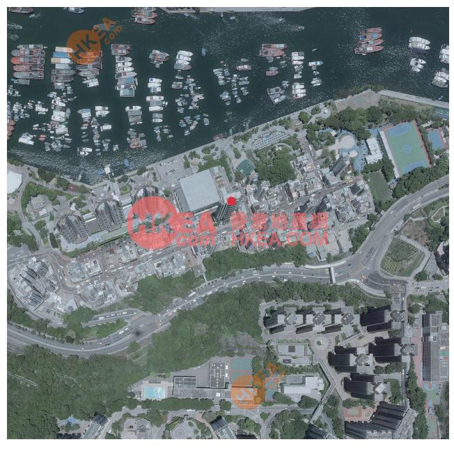 香港仔 倚南鳥瞰圖