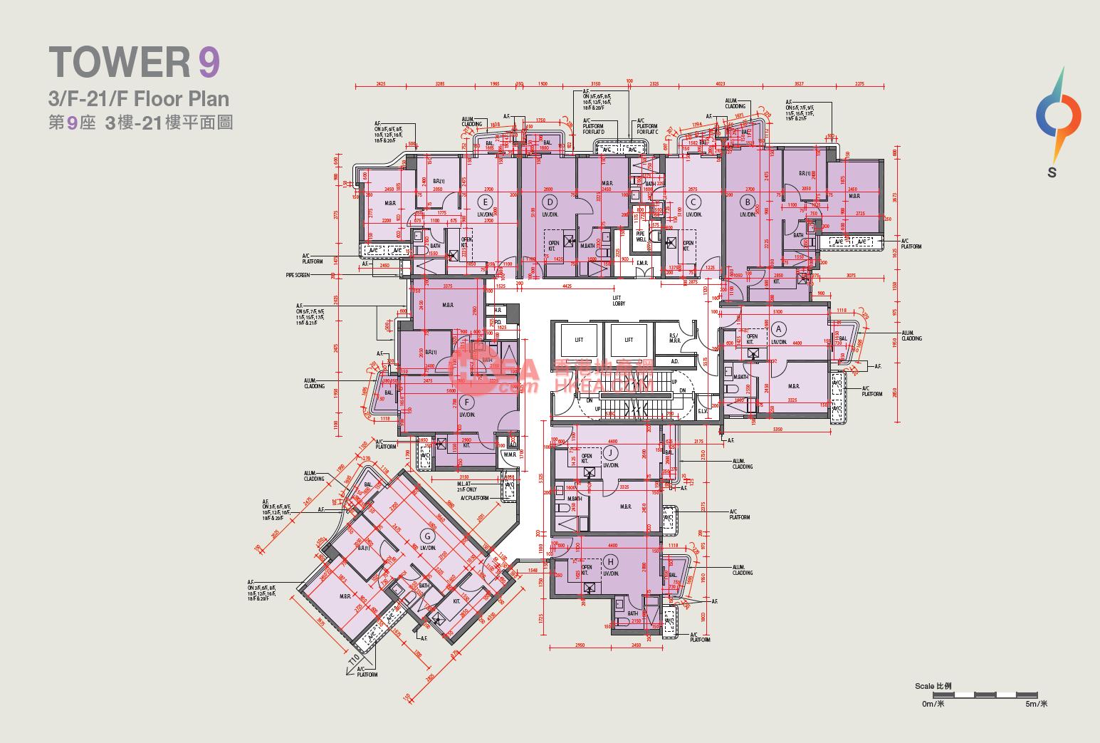 馬料水 嘉熙09座|03-20(ABCDEFGHJ)