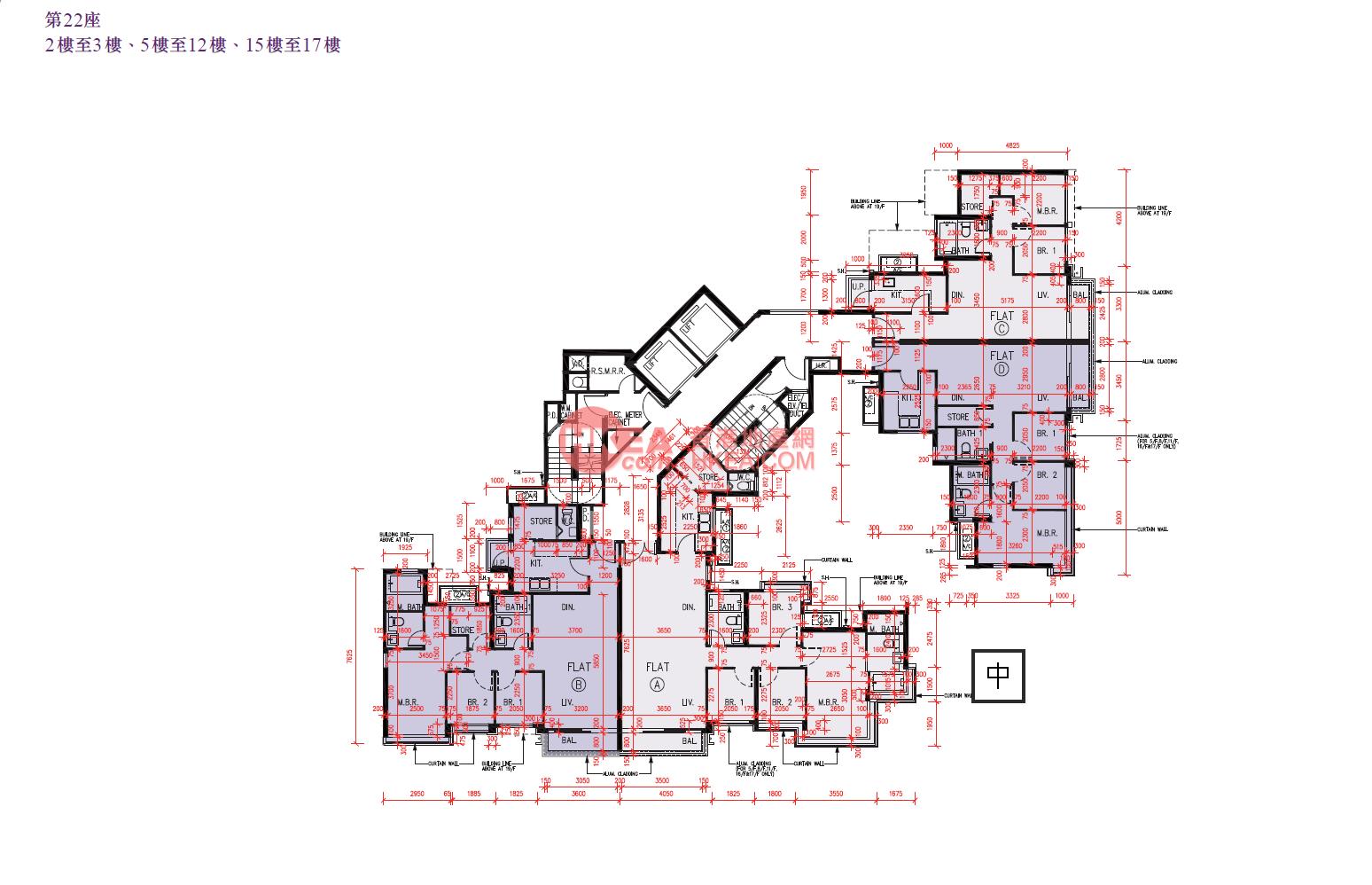 錦田 峻巒2B22座|02-17(AB)