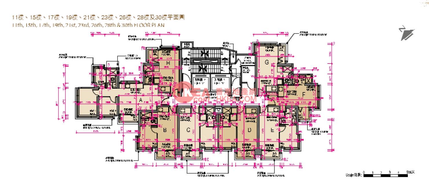 長沙灣 家壹|11-30(ABCDEFGH)