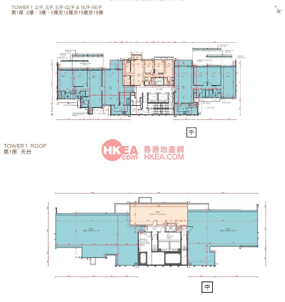 馬料水 海日灣II01座 02-18(ABC)