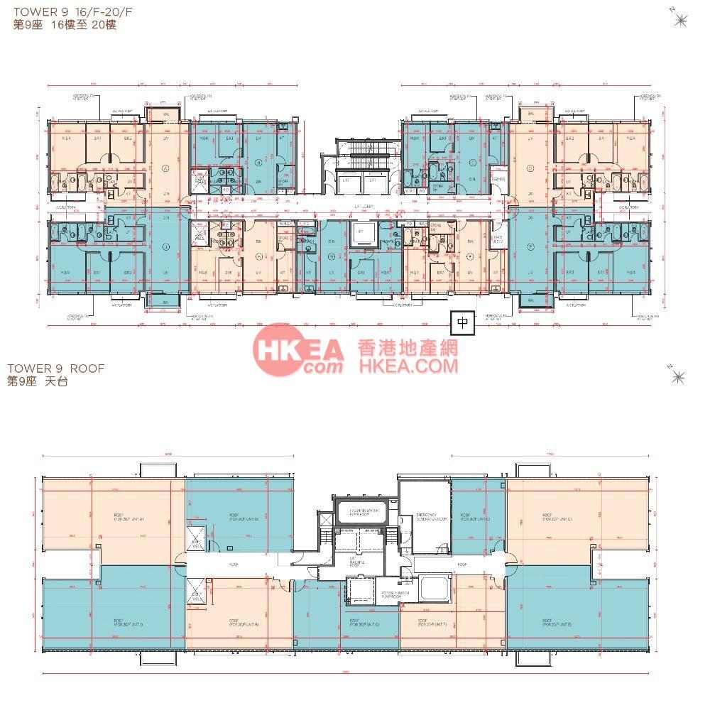 馬料水 海日灣II09座 16-20(ABCDEFGHJ)