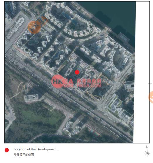 馬料水 海日灣II鳥瞰圖
