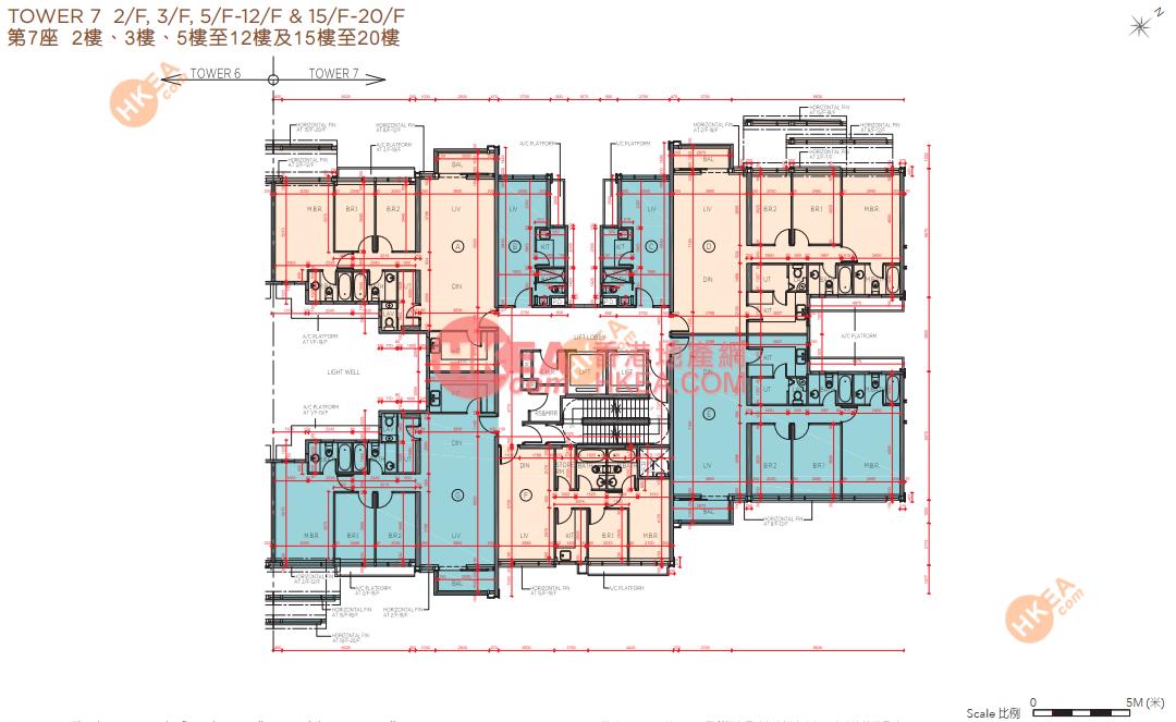 馬料水 海日灣II07座 02-19(ABCDEFG)