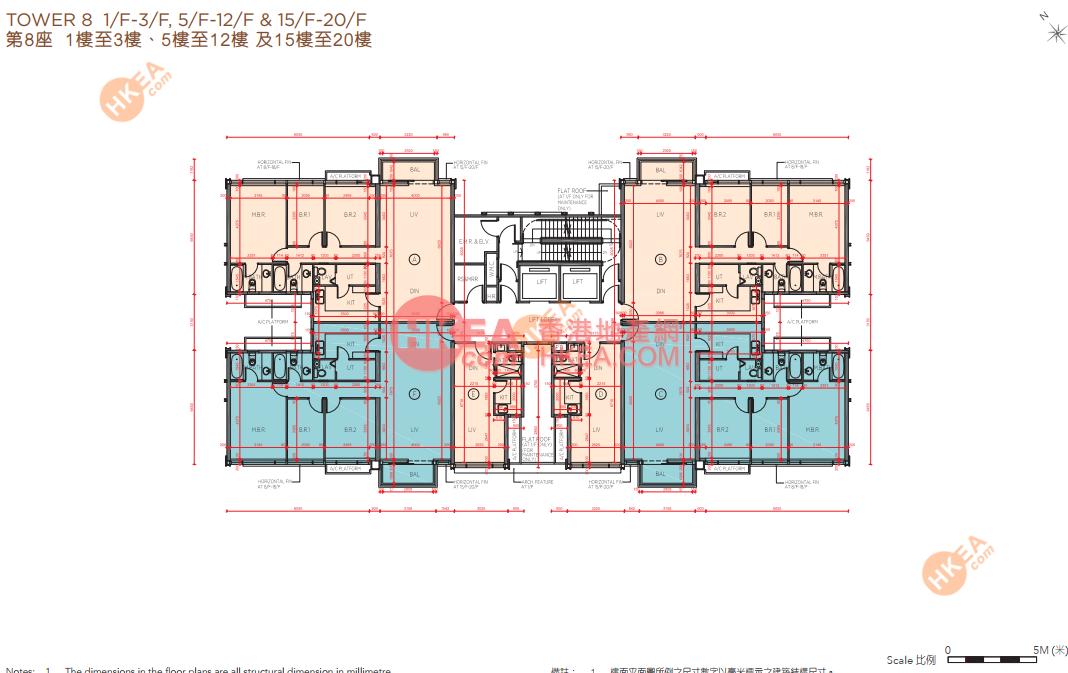 馬料水 海日灣II08座 01-19(ABCDEF)