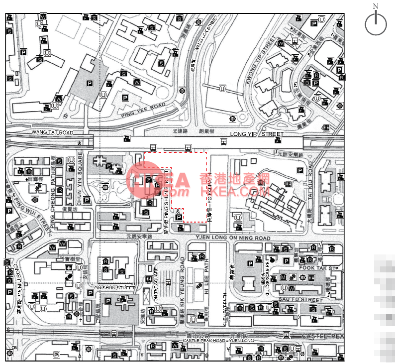 元朗 朗城匯位置圖