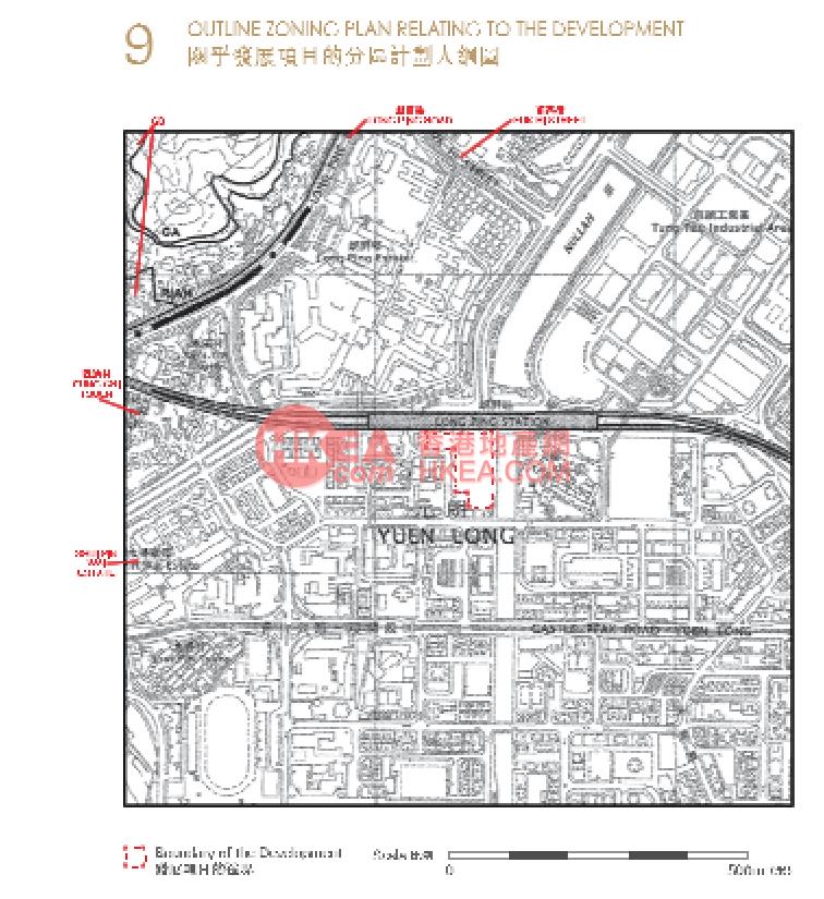 元朗 朗城匯規劃圖