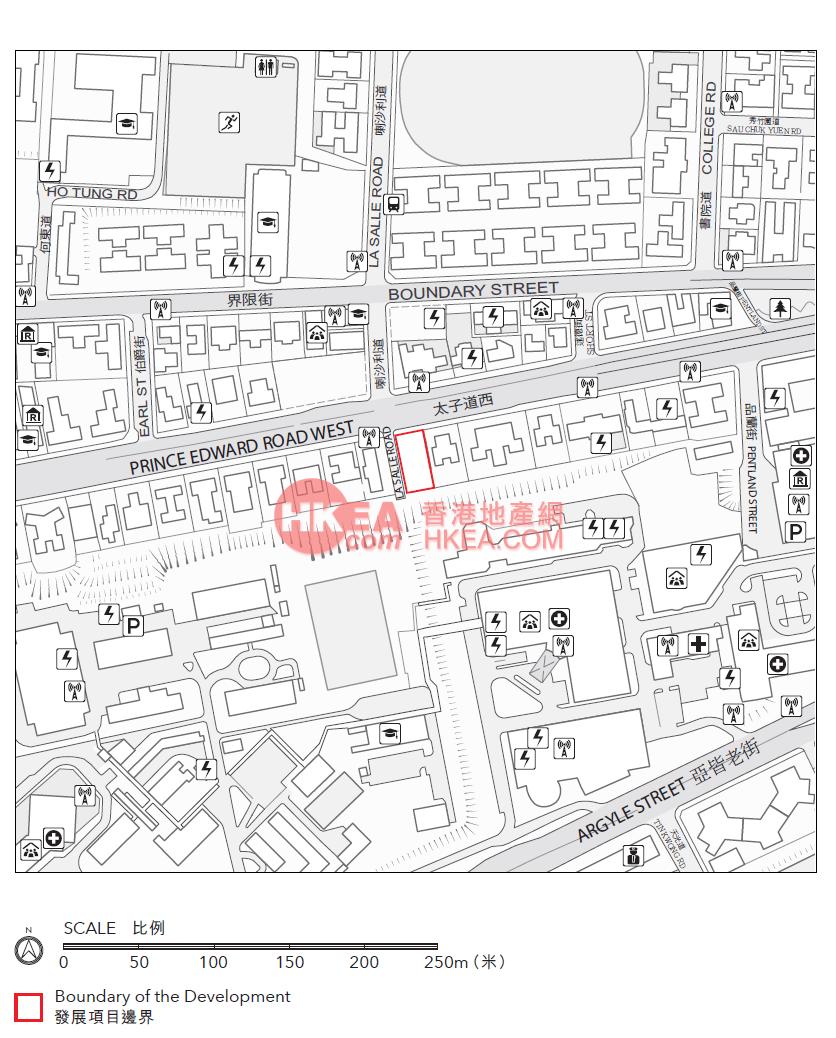 九龍塘 晟林位置圖