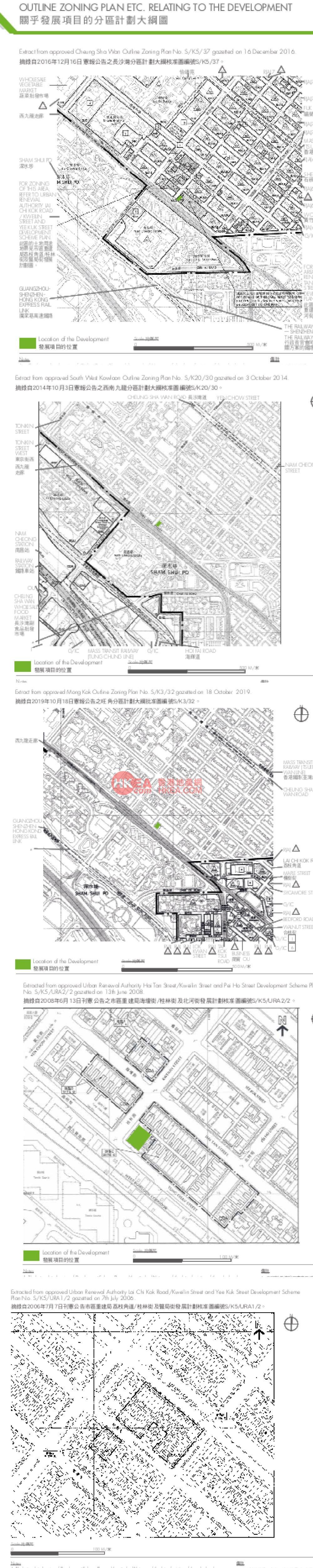 深水埗 WEST PARK規劃圖