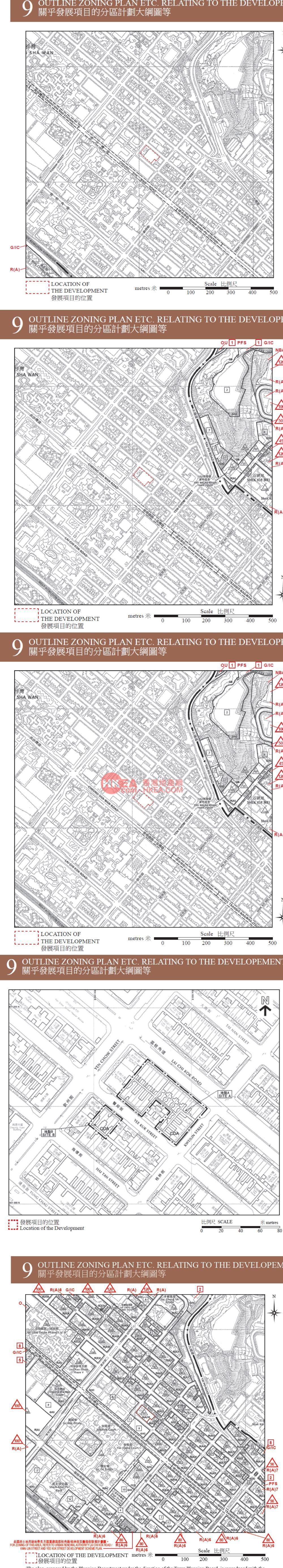 深水埗 THE CAMPTON 1B規劃圖