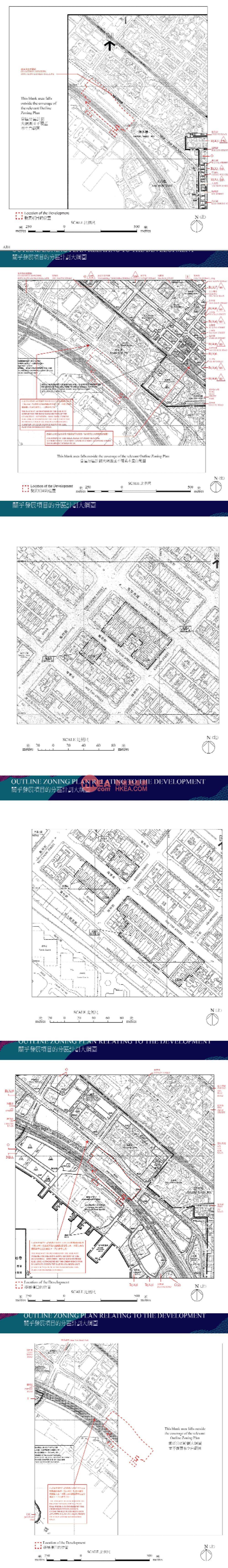 深水埗 匯璽III規劃圖