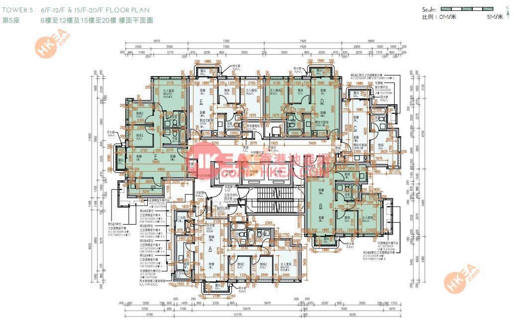 油塘/茶果嶺 KOKO HILLS05座 06-20(ABCDEF)