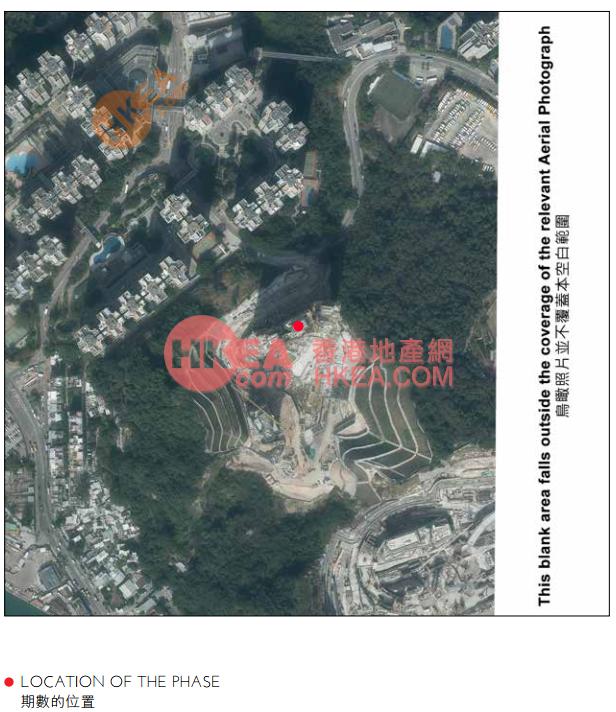 油塘/茶果嶺 KOKO HILLS鳥瞰圖