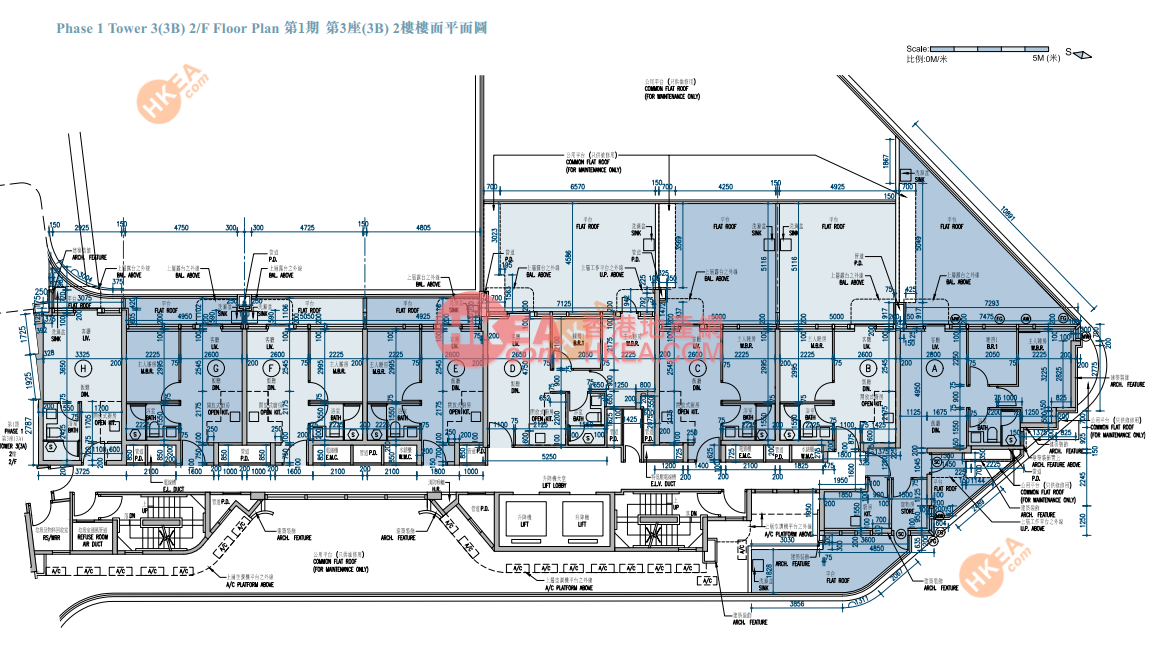 長沙灣 維港匯I03B座 02(ABCDEFGH)