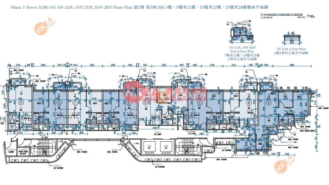 長沙灣 維港匯I03B座 03-28(ABCDE)