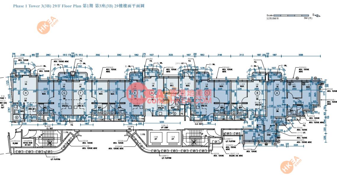 長沙灣 維港匯I03B座 29(ABCDE)