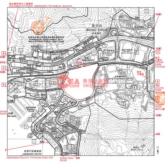 黃竹坑 晉環規劃圖