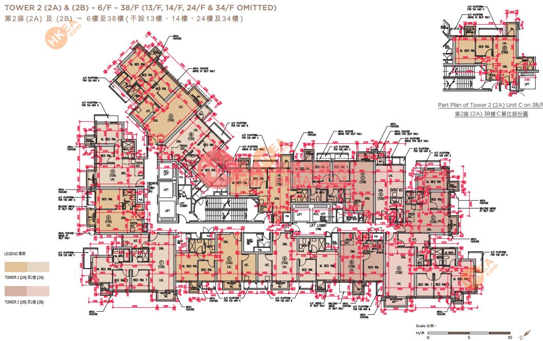 黃竹坑 晉環02A座 06-38(ABCDEFGH)