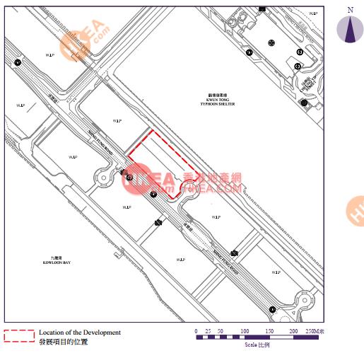 啟德 維港1號位置圖