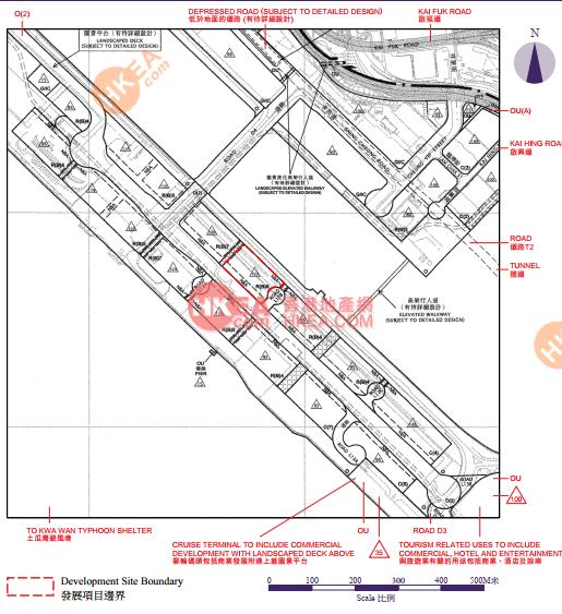 啟德 維港1號規劃圖