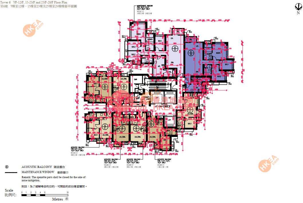深水埗 匯璽III06座 30-56(ABCDEFGHJ)